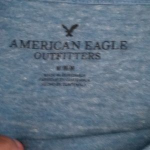 American Eagle Outfitters Shirts - Light blue American Eagle t-shirt